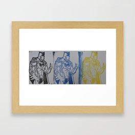 BM STAMP Framed Art Print