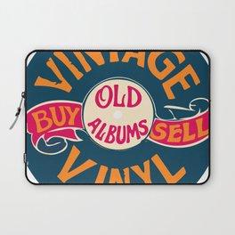 Vintage Vinyl, Old Album Laptop Sleeve
