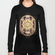 Geometry Peace Reflections Long Sleeve T-shirt