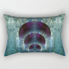 """Space purple Fantasy"" Rectangular Pillow"