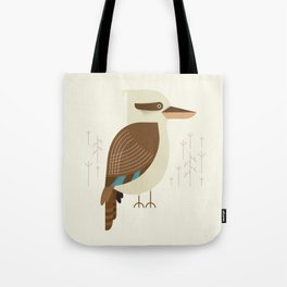 Laughing Kookaburra, Bird of Australia Tote Bag
