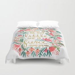 Little & Fierce Duvet Cover