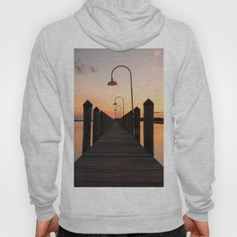 Rusty Rudder Dock Sunset Hoody