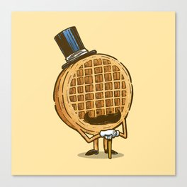 The Fancy Waffle Canvas Print