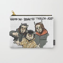Where The Beastie Things Are Carry-All Pouch
