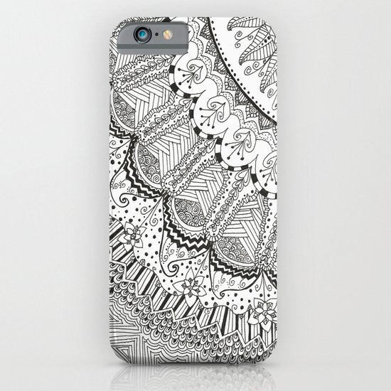 Doodle Madness iPhone & iPod Case