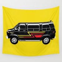van Wall Tapestries featuring Classic Van by Eyes Wide Awake