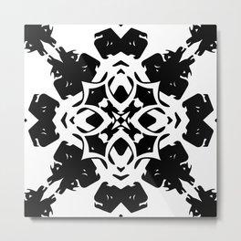 Callisto IV (Black) Metal Print