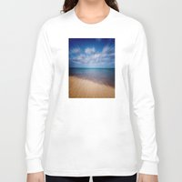running Long Sleeve T-shirts featuring Running Water by Phil Perkins