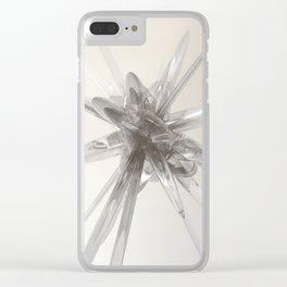 Glass Star Clear iPhone Case