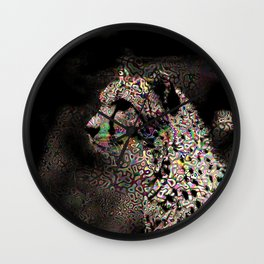 Abstract Animal - Cheetah Wall Clock