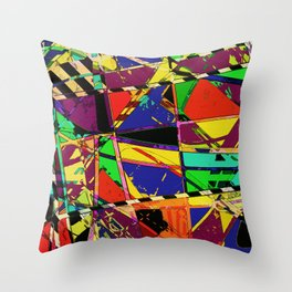 Choppy Throw Pillow