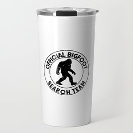 Official Bigfoot Search Team Travel Mug