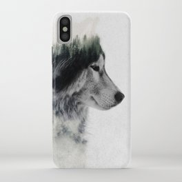 Wolf Stare iPhone Case