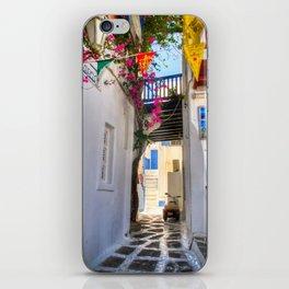 Greece Santorini Island iPhone Skin