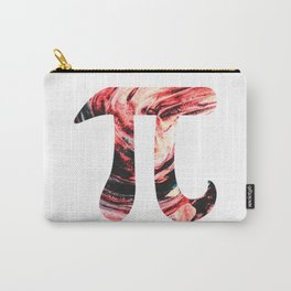 Abstract Sun Oil Paint Pi Day Carry-All Pouch