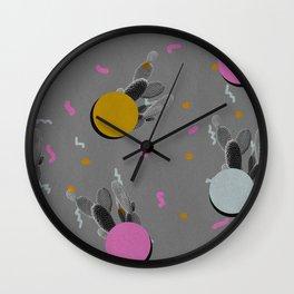 Cacti 1 Wall Clock