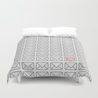 minimalism Duvet Covers featuring Minimalism of l by Stoian Hitrov - Sto