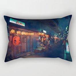 Small streets of Koenji Rectangular Pillow