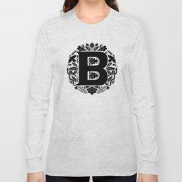Letter B monogram wildwood Long Sleeve T-shirt