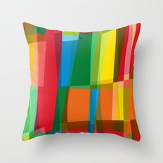 behind the colors Throw Pillow