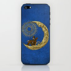 Moon Travel (Colour Option) iPhone & iPod Skin
