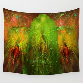 Fractal Angels VI Wall Tapestry
