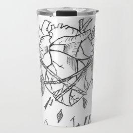 Sylicone heart Travel Mug