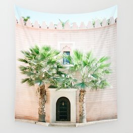 """Travel photography print """"Magical Marrakech"""" photo art made in Morocco. Pastel colored. Wall Tapestry"""