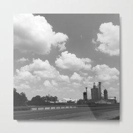 Small Town Sky Metal Print
