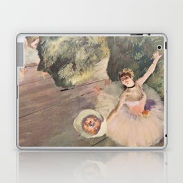 Dancer with a Bouquet of Flowers (Star of the Ballet) Laptop & iPad Skin