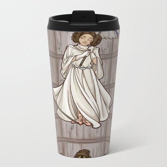 Leia's Corruptible Mortal State Metal Travel Mug