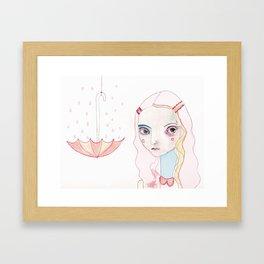 Don't Rain on my Parade Framed Art Print