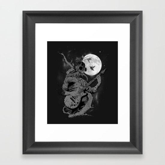 Still Remains Framed Art Print
