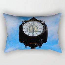 Blissfield Clock I Rectangular Pillow