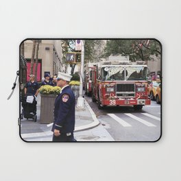 The Fire Dept of New York at 30 Rock Laptop Sleeve