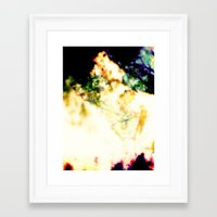 concert Framed Art Prints featuring Concert by Forms&Shapes
