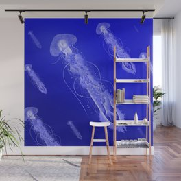 School of Jellies Wall Mural