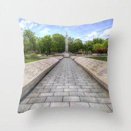 Soviet War Graves Budapest Throw Pillow