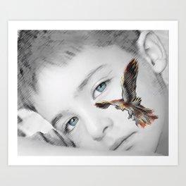 phoenix rises Art Print