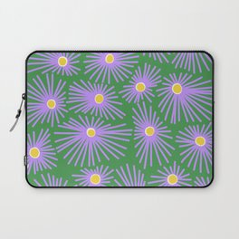 New England Asters Laptop Sleeve