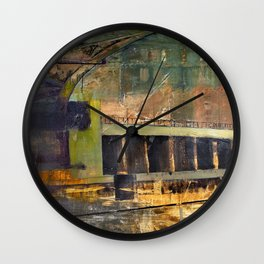 Chicago Bridge Wall Clock
