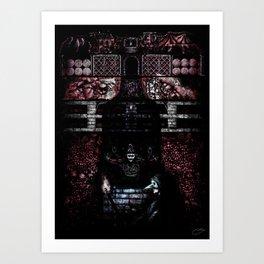 """The Cask of Amontillado"" - Edgar Allan Poe Series Art Print"