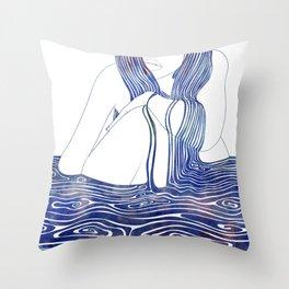Nereid XLII Throw Pillow