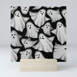 ghost pattern Mini Art Print