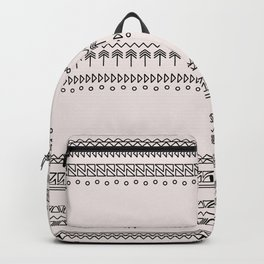 Tribal Pattern of Baluimbi Backpack