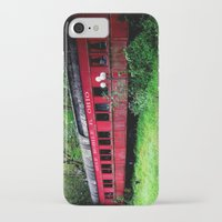 ohio iPhone & iPod Cases featuring Ohio Train  by Jean Dougherty