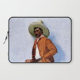 "Frederic Remington Western Art ""A Vaquero"" Laptop Sleeve"