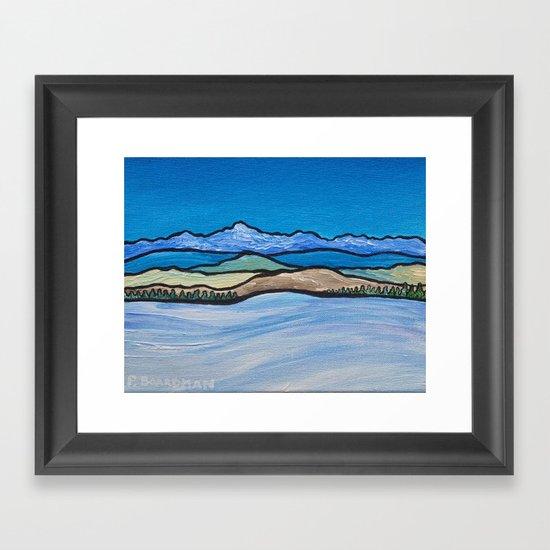 Vast Winter Framed Art Print