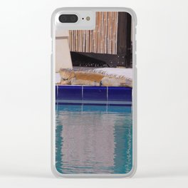 Day of the Iguana Clear iPhone Case
